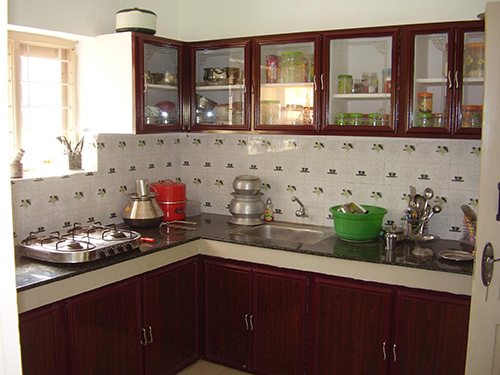 Latest interior tiles of kitchen kerala joy studio design gallery best design for Latest model kitchen designs